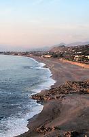 - Cedar Coast, Diamante beach towards North<br /> <br /> - Costa dei cedri, la spiaggia di Diamante verso nord