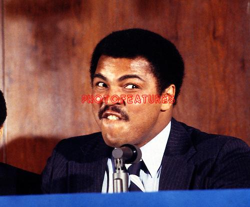 Muhammad Ali 1980.© Chris Walter.
