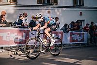 Kelly Van den Steen (BEL)<br /> <br /> WOMEN ELITE ROAD RACE<br /> Kufstein to Innsbruck: 156.2 km<br /> <br /> UCI 2018 Road World Championships<br /> Innsbruck - Tirol / Austria