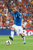 Italy's Daniele De Rossi during match between Spain and Italy to clasification to World Cup 2018 at Santiago Bernabeu Stadium in Madrid, Spain September 02, 2017. (ALTERPHOTOS/Borja B.Hojas)