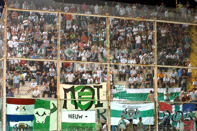 florence, fiorentina - groningen uefa cup seizoen 2007-2008 04-10-2007