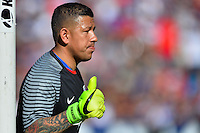San Diego, CA - Sunday January 29, 2017: Nick Rimando during an international friendly between the men's national teams of the United States (USA) and Serbia (SRB) at Qualcomm Stadium.