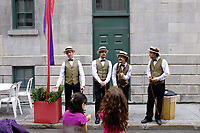 Montreal (Qc) CANADA -May 29, 2011 - Fetes Gourmandes  at Pointe-a-Calliere archeology Museum in Old-Montreal