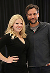 "Megan Hilty and Josh Radnor In Rehearsal for the Kennedy Center production of ""Little Shop of Horrors"" on October 11 2018 at Ballet Hispanica in New York City."