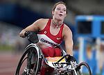Lisa Franks obtient une m?daille d'or au 400 m?tres elle ?tablit ainsi un nouveau record mondial .  (Jean-Baptiste Benavent 24 septembre).