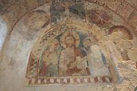 Matera, i Sassi Le chiese rupestri, affresco