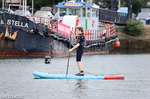 Stand Up Paddleboarding is one of the many aquatic pursuits on offer in the harbour