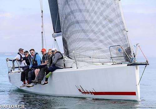 Searcher's sister-ship Hot Cookie (John O'Gorman, NYC) has Olympian Mark Mansfield on board