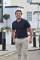 Nathan Massey <br /> arriving for filming for Towie la sala Chigwell<br /> <br /> <br /> ©Richard Open snappers