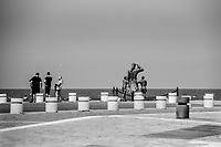 cesenatico, monumento alle spose dei marinai