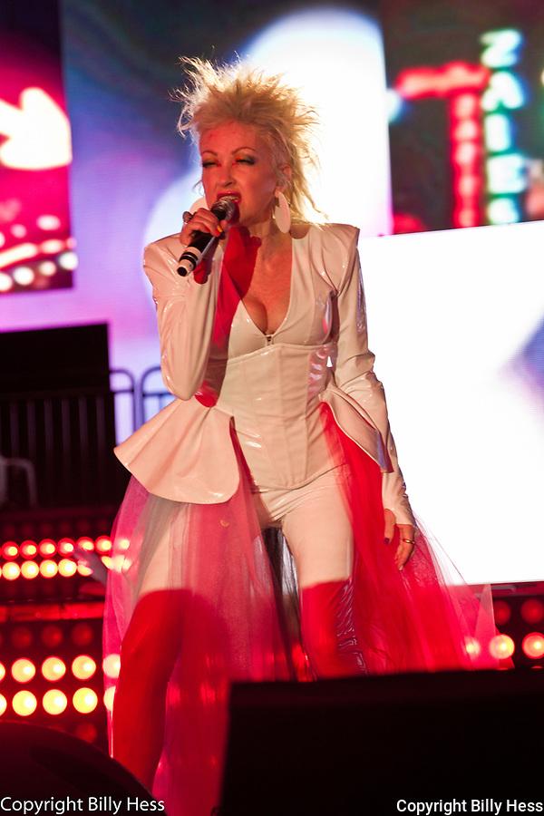 Cyndi Lauper at We Magic Planet Pride Main Event  June 29, 2019