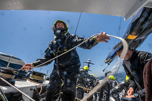 On board Ambersail-2 during Leg 2 of The Ocean Race Europe from Cascais to Alicante