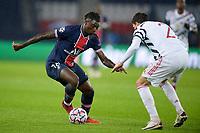 Moise Kean (PSG) <br /> Paris  20/10/2020 <br /> Paris Saint Germain PSG - Manchester United <br /> Champions League 2020/2021<br /> Photo JB Autissier / Panoramic / Insidefoto <br /> Italy Only