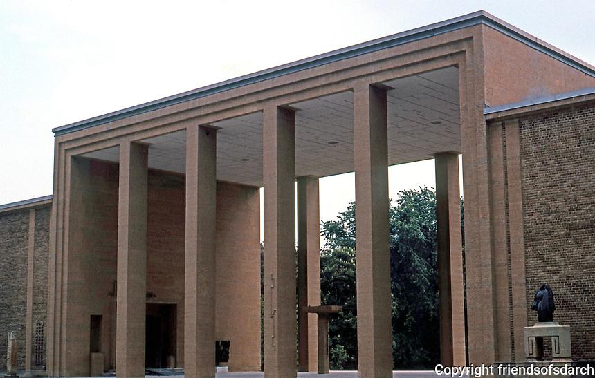 Eliel Saarinen: Cranbrook Academy of Art, 1943.  Photo '97.