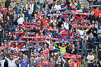 San Diego, CA - Sunday January 21, 2018: American Outlaw, fans prior to an international friendly between the women's national teams of the United States (USA) and Denmark (DEN) at SDCCU Stadium.