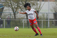 Zulte Waregem's forward Esther Buabadi pictured during a female soccer game between SV Zulte - Waregem and White Star Woluwe on the 9th matchday of the 2020 - 2021 season of Belgian Scooore Women s SuperLeague , saturday 12 th of December 2020  in Waregem , Belgium . PHOTO SPORTPIX.BE | SPP | DIRK VUYLSTEKE