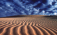 Sanddunes in the Simpson desert on the Queensland part, Australia