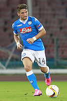Dries Mertens Napoli, <br /> Napoli 17-09-2015 Stadio San Paolo <br /> Football Calcio UEFA Europa League <br /> Fase a gironi Gruppo D, Group stage Group D. Napoli - Brugge.<br /> Foto Cesare Purini / Insidefoto