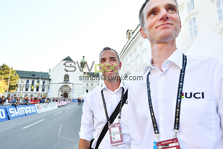 Picture by Simon Wilkinson/SWpix.com - 22/09/2018 - 30/09/2018 Cycling UCI Road World Championships, Innsbruck 2018 - The Brief