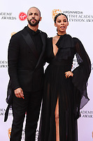 Marvin and Rochelle Humes<br /> arriving for the BAFTA TV Awards 2019 at the Royal Festival Hall, London<br /> <br /> ©Ash Knotek  D3501  12/05/2019