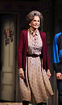 """Mercedes Ruehl  during the Broadway Opening Night Curtain Call for """"Torch Song"""" at the Hayes Theater on November 1, 2018 in New York City."""
