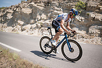 European Champion Matteo Trentin (ITA/Mitchelton-Scott) during  a VERY hot (35°C) rest day 2 training ride with Team Mitchelton-Scott <br /> <br /> restday 2<br /> 106th Tour de France 2019 (2.UWT)<br /> <br /> ©kramon