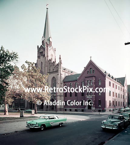 St. Boniface Church, Exterior - 1950's