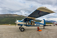 Coyote Air bush plane, Coldfoot Alaska