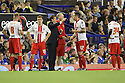 Stevenage manager Graham Westley gives instructions before extra time<br />  - Everton v Stevenage - Capital One Cup Second Round - Goodison Park, Liverpool - 28th August, 2013<br />  © Kevin Coleman 2013