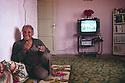 Turkey 1987.A Kurdish man in his house near Mardin.Turquie 1987.Un Kurde dans sa maison de la region de Mardin