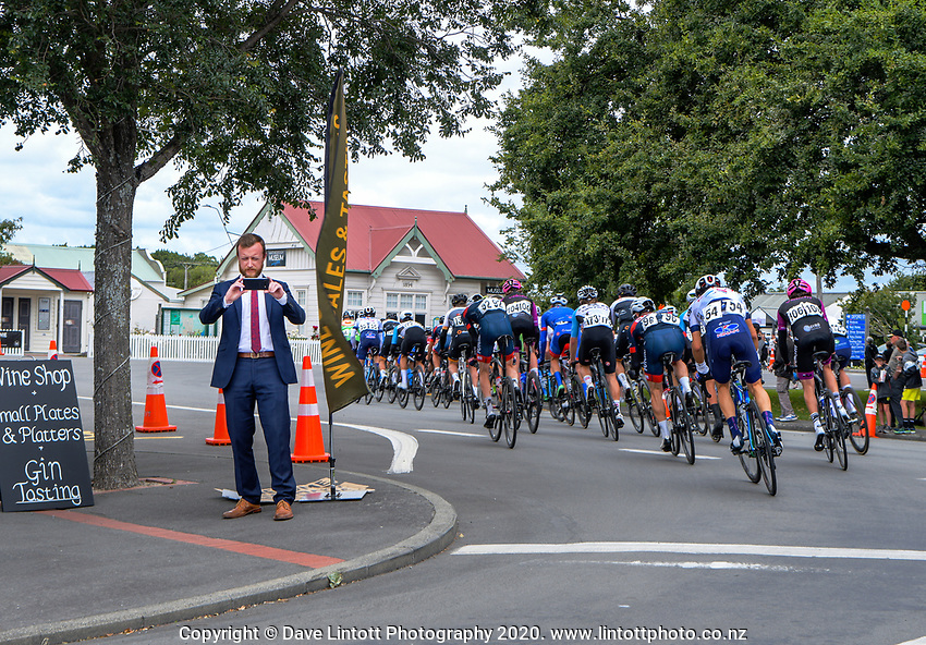 MP Kieran McAnulty. Stage three of the NZ Cycle Classic UCI Oceania Tour (Martinborough circuit) in Wairarapa, New Zealand on Friday, 17 January 2020. Photo: Dave Lintott / lintottphoto.co.nz