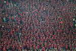 Guangzhou Evergrande fans during the AFC Champions League 2017 Quarter-Finals match between Guangzhou Evergrande (CHN) vs Shanghai SIPG (CHN) at the Tianhe Stadium on 12 September 2017 in Guangzhou, China. Photo by Marcio Rodrigo Machado / Power Sport Images