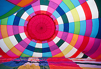 Inside hot air balloon<br />