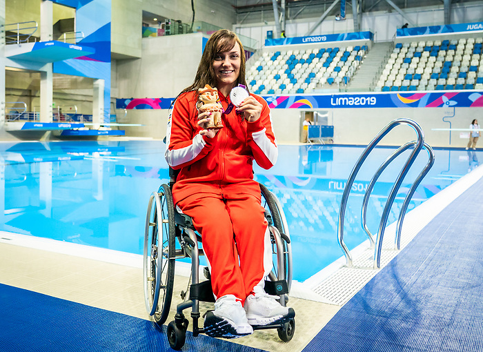 Krystal Shaw, Lima 2019 - Para Swimming // Paranatation.<br />