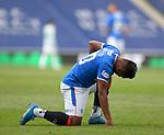 02.05.2121 Rangers v Celtic: Alfredo Morelos injured