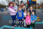 Enjoying the playground in the Listowel town park on Saturday, Front l to r: Sean and Grace Foley, Clodagh and Darragh Keane. Back l to r: Lorcan Statapoole and Ann Flaherty, Leonie Keane and Caroline Foley.