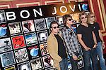 MADRID (04/06/2010).- Bon Jovi Photocall before tonight's concert at Rock in Rio Madrid. Pictured (L to R) Tico Torres, Richie Sambora, Jon Bon Jovi, and David Bryan (David Rashbaum)...PHOTO: Cesar Cebolla / ALFAQUI
