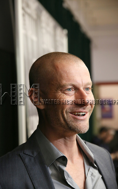 James Badge Dale attends the press photo call for 'Building The Wall' Ripley-Grier on May 5, 2017 in New York City.