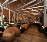 NEW YORK - DECEMBER 16:  Interior and exterior shots of Ink 48 hotel and Print Lounge December 16, 2010 in New York City.  (Photo by Donald Bowers)