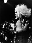 Motley Crue 1981 Vince Neil.© Chris Walter.