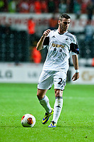 Thursday  03 October  2013  Pictured:Alvaro Vasquez<br /> Re:UEFA Europa League, Swansea City FC vs FC St.Gallen,  at the Liberty Staduim Swansea