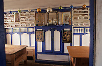 Europe/France/Bretagne/29/Finistère/Ile d'Ouessant: Musée des traditions ouessantines - Détail intérieur - Autel à la vierge Marie