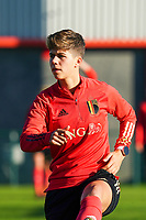 20200911 - TUBIZE , Belgium : Isabelle Iliano pictured during the training session of the Belgian Women's National Team, Red Flames ahead of the Women's Euro Qualifier match against Switzerland, on the 28th of November 2020 at Proximus Basecamp. PHOTO: SEVIL OKTEM   SPORTPIX.BE