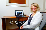 Maeve Ferris at home in Ardfert who is running an online Talk Show for charities.
