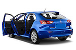 Car images close up view of a 2015 Mitsubishi Lancer  Sportback 5 Door Hatchback doors