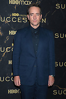 """October 12, 2021. Matthew Macfadyen attend HBO's """"Succession"""" Season 3 Premiere at the  American Museum of Natural History in New York October 12, 2021 Credit: RW/MediaPunch"""