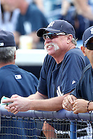 New York Yankees Goose Gossage during a Spring Training game vs the Houston Astros at George M. Steinbrenner Field in Tampa, Florida;  March 2, 2011.  New York defeated Houston 6-5.  Photo By Mike Janes/Four Seam Images