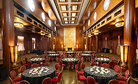 """""""Queen Mary"""" Banquet by Art Harman. The historic art-deco ocean liner in Long Beach CA is host to many banquets and special events"""