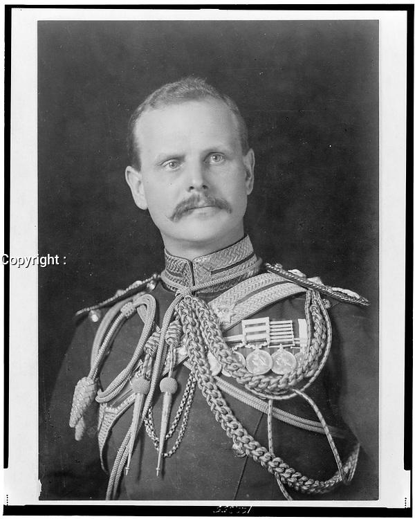 Gen. Sir William Birdwood, (1865-1951) in uniform, 1925