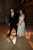 Scott Dixon arrives at the premiere with wife Emma